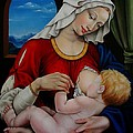 Nathalie Chavieve - Madonna with child