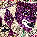 Katie Farmer - Mardi Gras Masks - Beaded