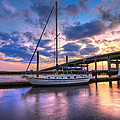 Debra and Dave Vanderlaan - Marina at Sunset