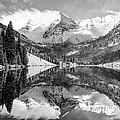 Gregory Ballos - Maroon Bells BW Covered...