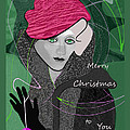 Irmgard Schoendorf Welch - 1036 Merry Christmas to...