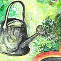 Barbara LeMaster - Metal Watering Can