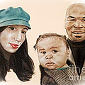 Jim Fitzpatrick - Mike Tyson and Family...