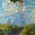 Joseph Hawkins - Monet-Lady with a...
