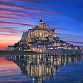 Richard Harpum - Mont Saint-Michel Soir