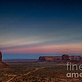 Anne Rodkin - Monument Valley Sunset