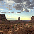 Saija  Lehtonen - Monument Valley Sunset
