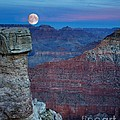 Patrick Witz - Moon Rise Grand Canyon