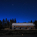 Marty Saccone - Moonlit Starscape At the...