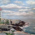 Fiona Graham - Morning at Peggys Cove...