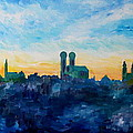 M Bleichner - Munich Skyline with...