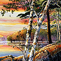 Hanne Lore Koehler - Muskoka Summer Sunset