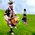 Bob Johnston - Native American Dancers...
