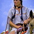 F Leblanc - Native American Woman On...