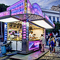 David Smith - Neon Churros Stand in...