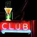 Melany Sarafis - Neon Sign CLUB