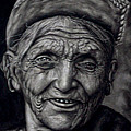 Johnson Moya - Nepali Old Woman