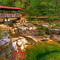 Gregory Ballos - Covered Bridge in Spring...