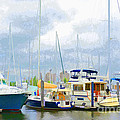 Regina Geoghan - New York Harbor Marina I