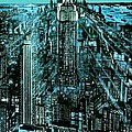 Peter Art Gallery  - Paintings Photos Prints Posters - New York Night - Drawing...