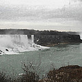 Richard Andrews - Niagara Falls Winter...