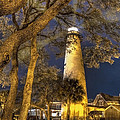 Debra and Dave Vanderlaan - Night Lighthouse