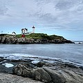 Donna Doherty - Nubble Light After Sunset