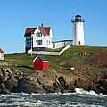 Barbara McDevitt - Nubble Lighthouse One