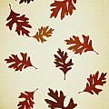 Christina Rollo - Oak Leaves Pattern Aged