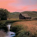 Leland Howard - Old barn in the Pioneer...