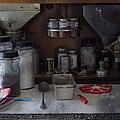 Liane Wright - Old Cupboard - Vintage...