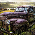 Debra and Dave Vanderlaan - Old Dairy Farm Truck