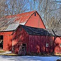 Dave Sandt - Old Red Barns