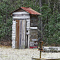 Al Powell Photography USA - Old time Outhouse and...