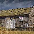 Randall Nyhof - Old Wooden Barn for Sale