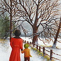 Lora Duguay - On a Wintry Walk with...