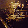 Andreja Dujnic  - On the old piano