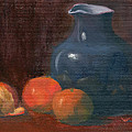 Elizabeth B Tucker  - Orange and Blue