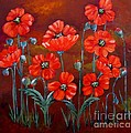 Suzanne Theis - Orange Poppies