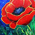 Suzanne Theis - Orange-Red Poppy