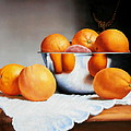 Steven McPeak - Oranges and Silver Bowl