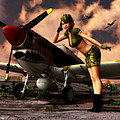 Todd and candice Dailey - P-40 Flygirl