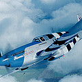 Ted Denyer - P-51C  Mustang