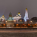 Alexander Senin - Panoramic view of Moscow...