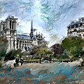 Evie Carrier - Paris Afternoon