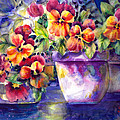 Ann  Nicholson - Patio Pansies