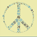 Variance Collections - Peace Symbol Design -...
