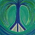 First Star Art  - Peace Tree