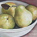 Charlotte Yealey - Pears in Bowl