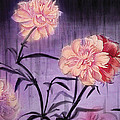 Irina Effa - Peonies in the rain